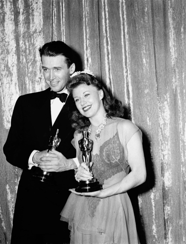 Ginger Rogers Jimmy Stewart