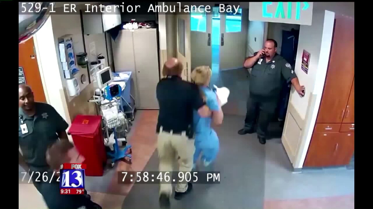 Utah nurse says videos show she was unlawfully arrested, assaulted by police officer