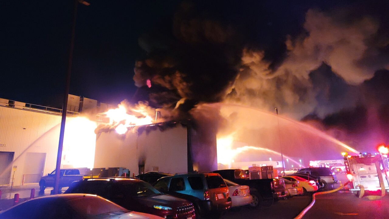 West Liberty Foods Fire