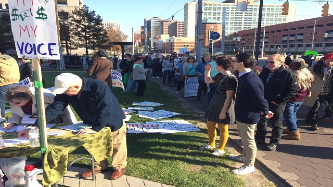 PHOTOS: Dakota Access Pipeline protest