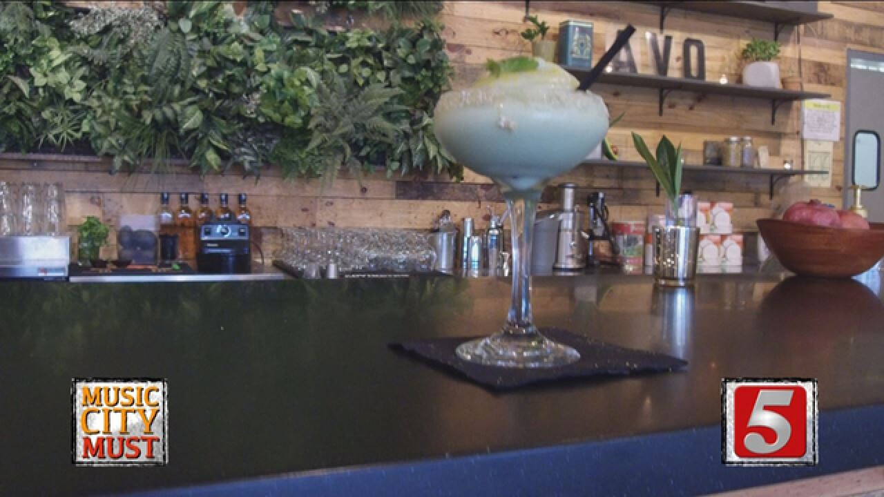 AVOcado Margarita At AVO Offers Less Guilt