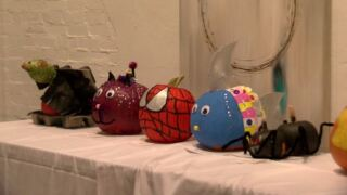 Decorators compete for best pumpkin in downtown Lafayette