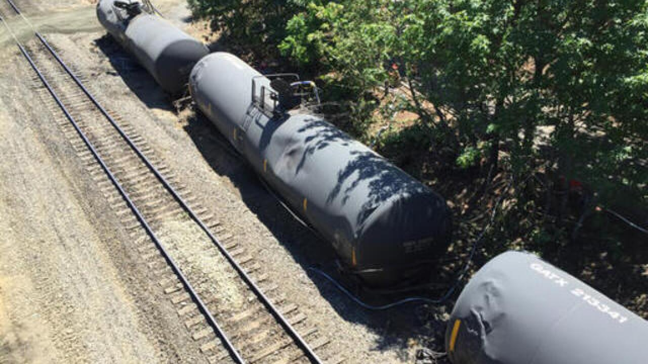Anger as trains resume after Oregon derailment