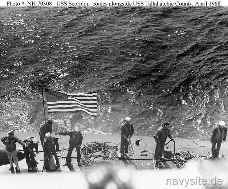 Photos: USS Scorpion disaster that killed 99 sailors remains maritimemystery