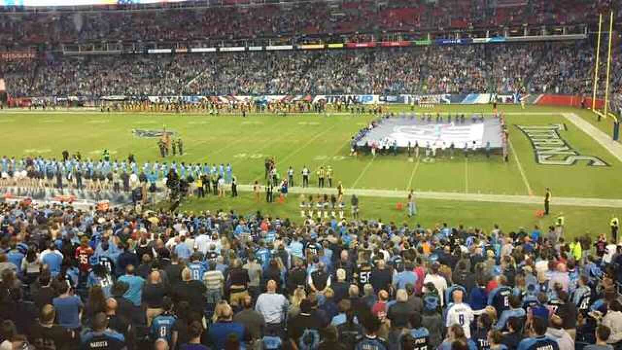 Titans Face Jaguars In Nashville