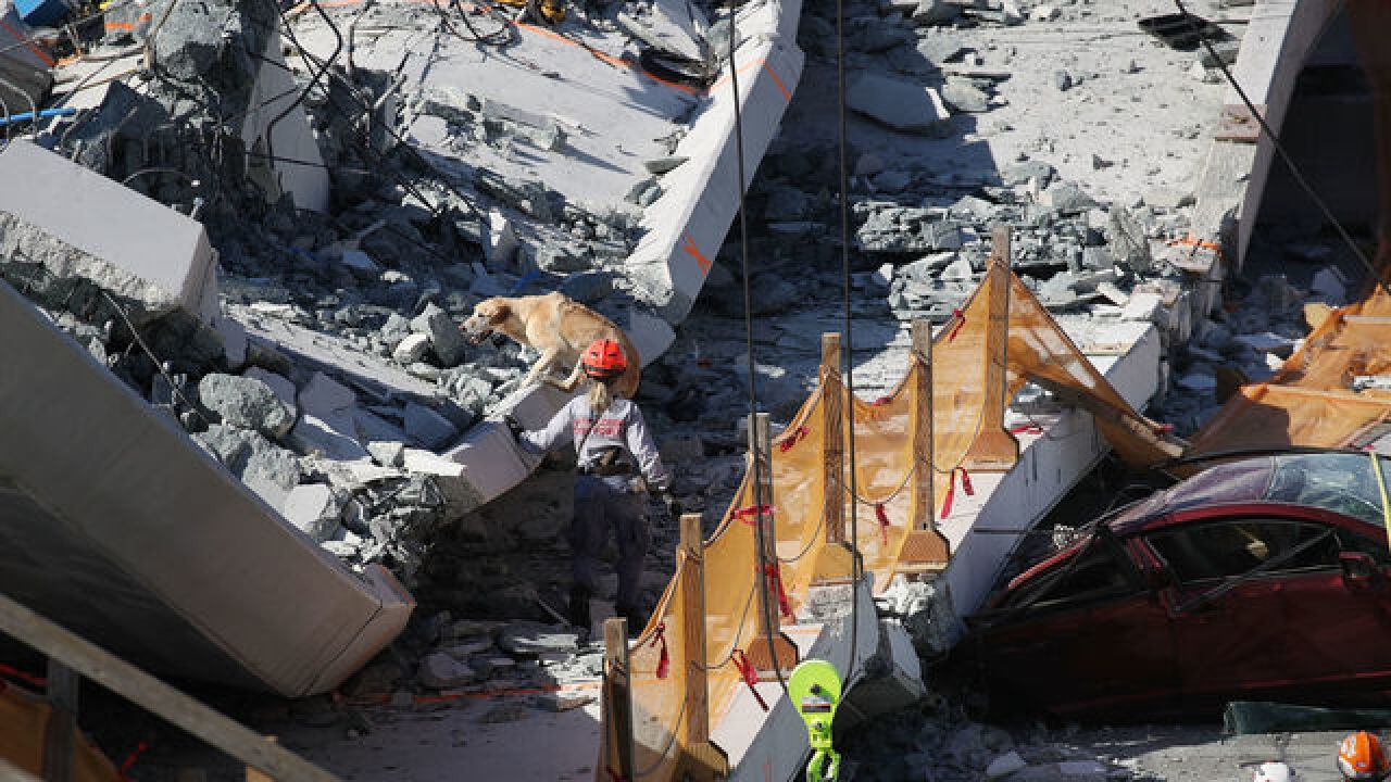 Victims of bridge collapse identified