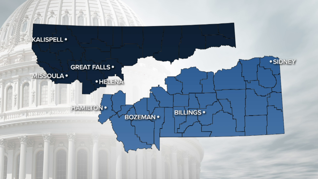 What will Montana's Congressional districts look like?