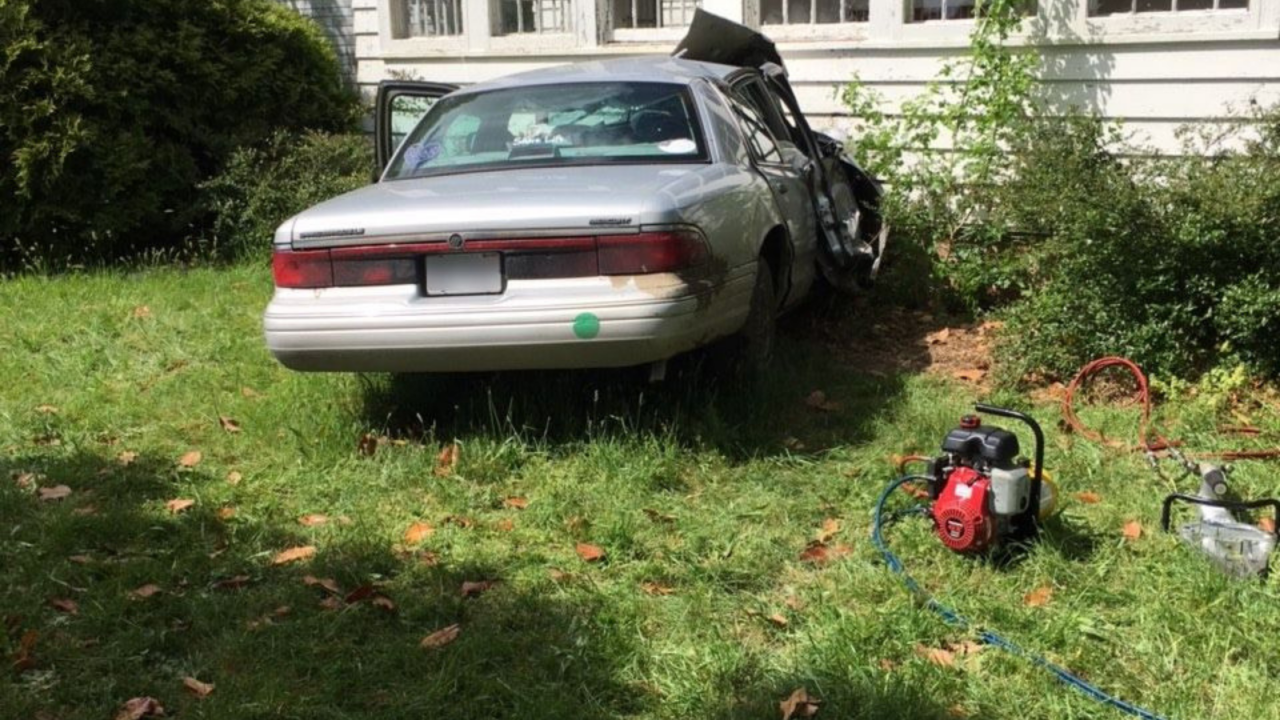 Woman dies after running car off road, crashing into home in Accomack County