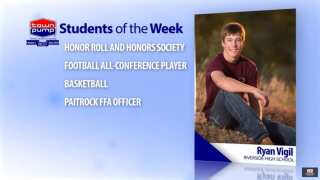 Students of the Week: Savannah Coronel and Ryan Vigil of Riverside High School
