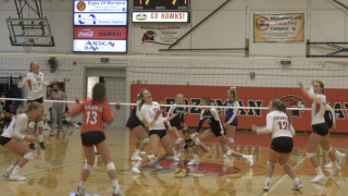 Bozeman volleyball gets first victory by defeating Billings Skyview