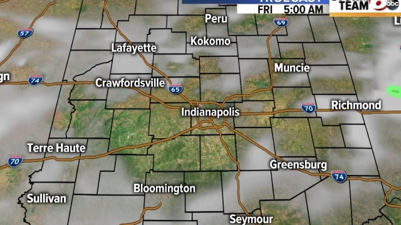 TIMELINE: Risk for severe weather Thursday night