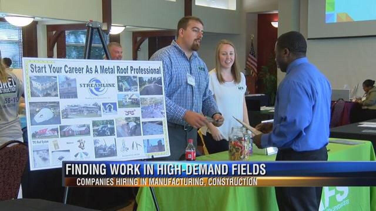 Local Job Fair Caters to High-Demand Fields