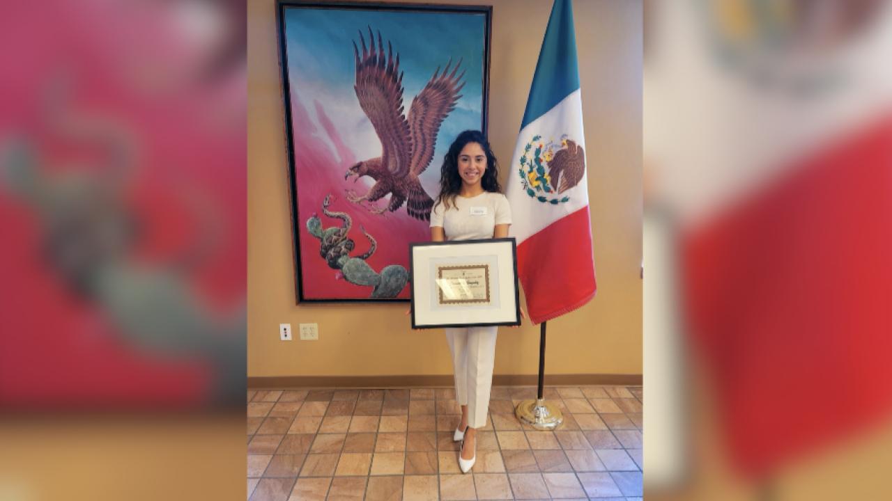 Ms. Mexican Fiesta Ambassador