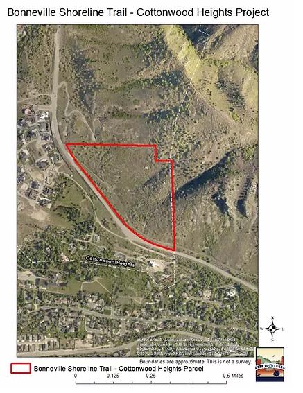Bonneville Shoreline Trail Map