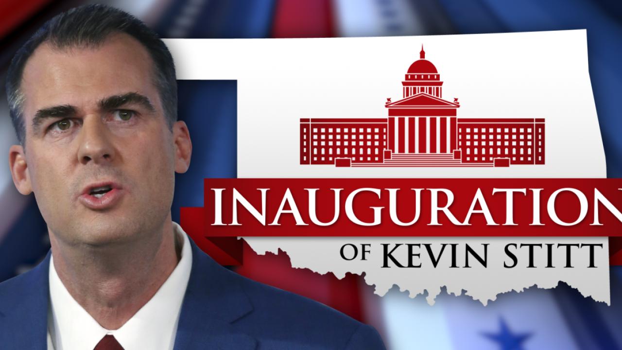 Kevin Stitt inauguration
