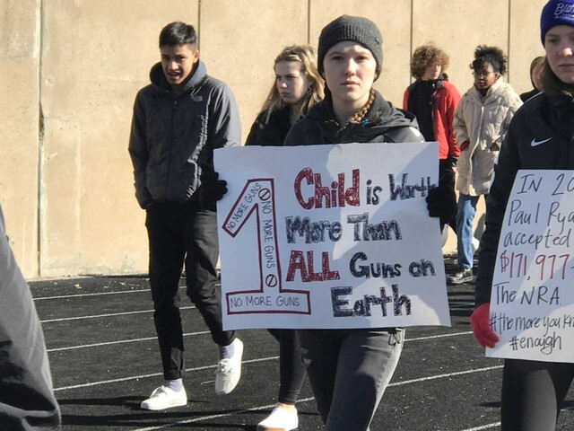 National Walkout Day 2018 photos from around the US