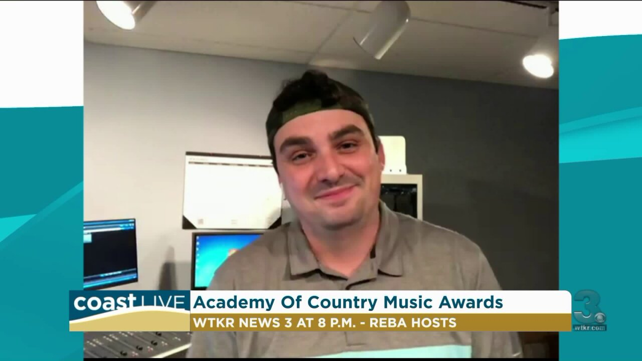 Coop talks ACM Awards live from The Eagle studio on Coast Live