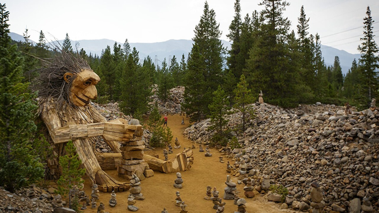 Breckenridge council votes to remove controversial troll sculpture