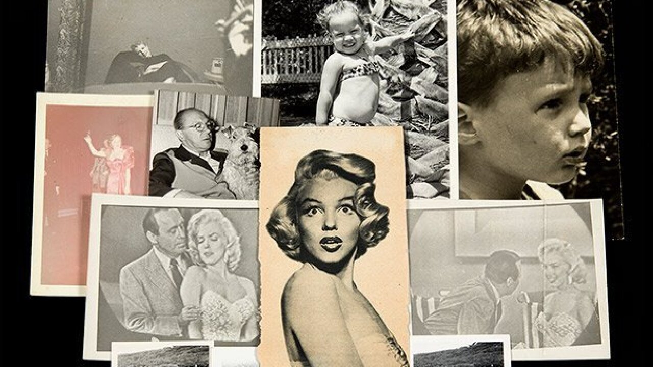 Joe DiMaggio's love letter to Marilyn Monroe sells for $78,000