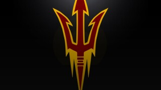 ASU football logo