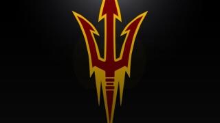 ASU football logo