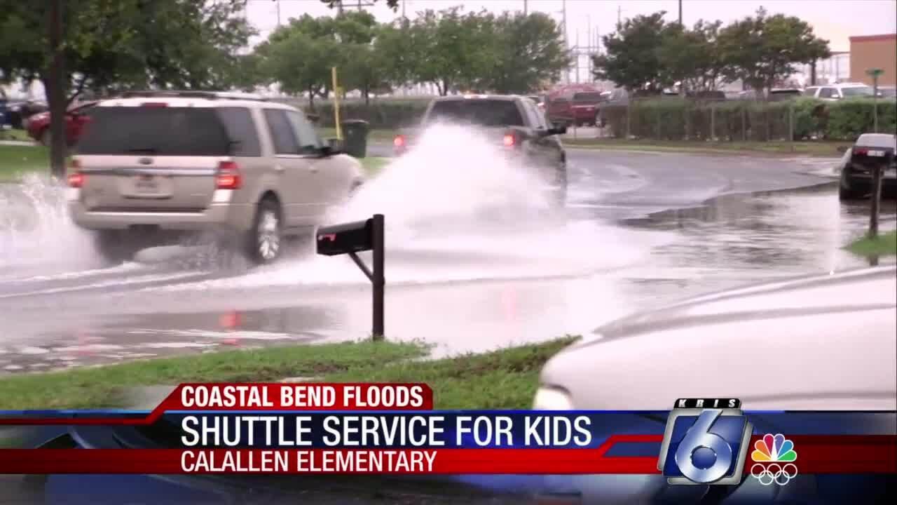 Calallen staff, teachers provide shuttle service for kids