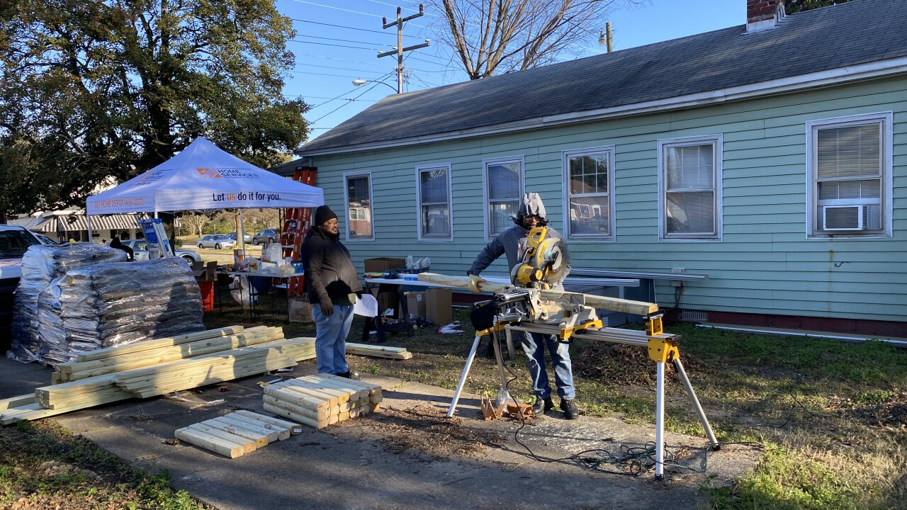 Newport News veteran gets free upgrades to home