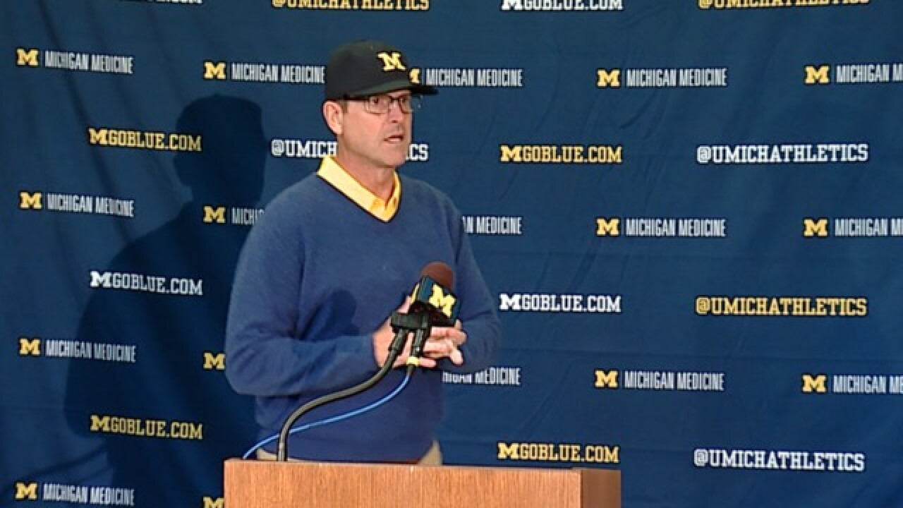 WATCH: Jim Harbaugh's full Monday press conference after beating Western Michigan