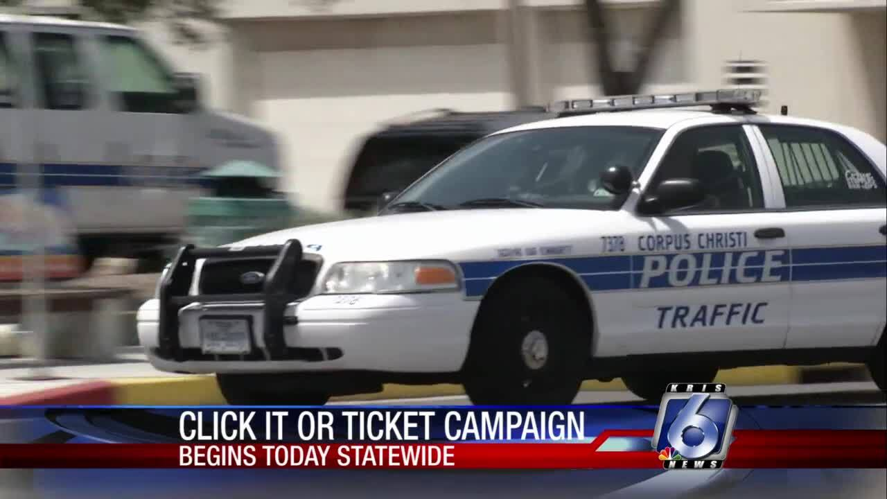 Click It or Ticket campaign across Texas through June 6