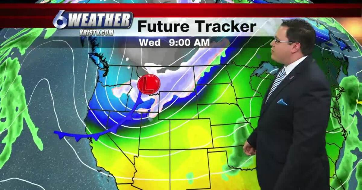 Temperatures, humidity and wind increase ahead of next front