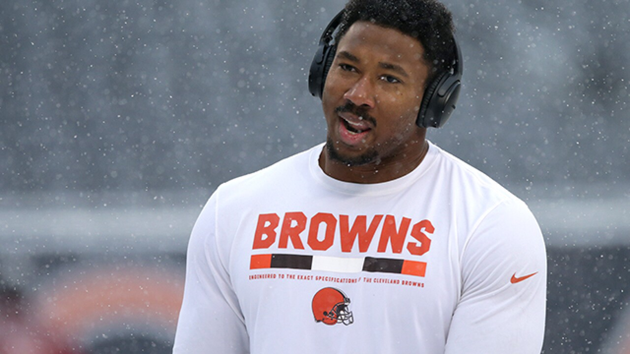 Myles Garrett is sharing his poetry with the public, and it's good