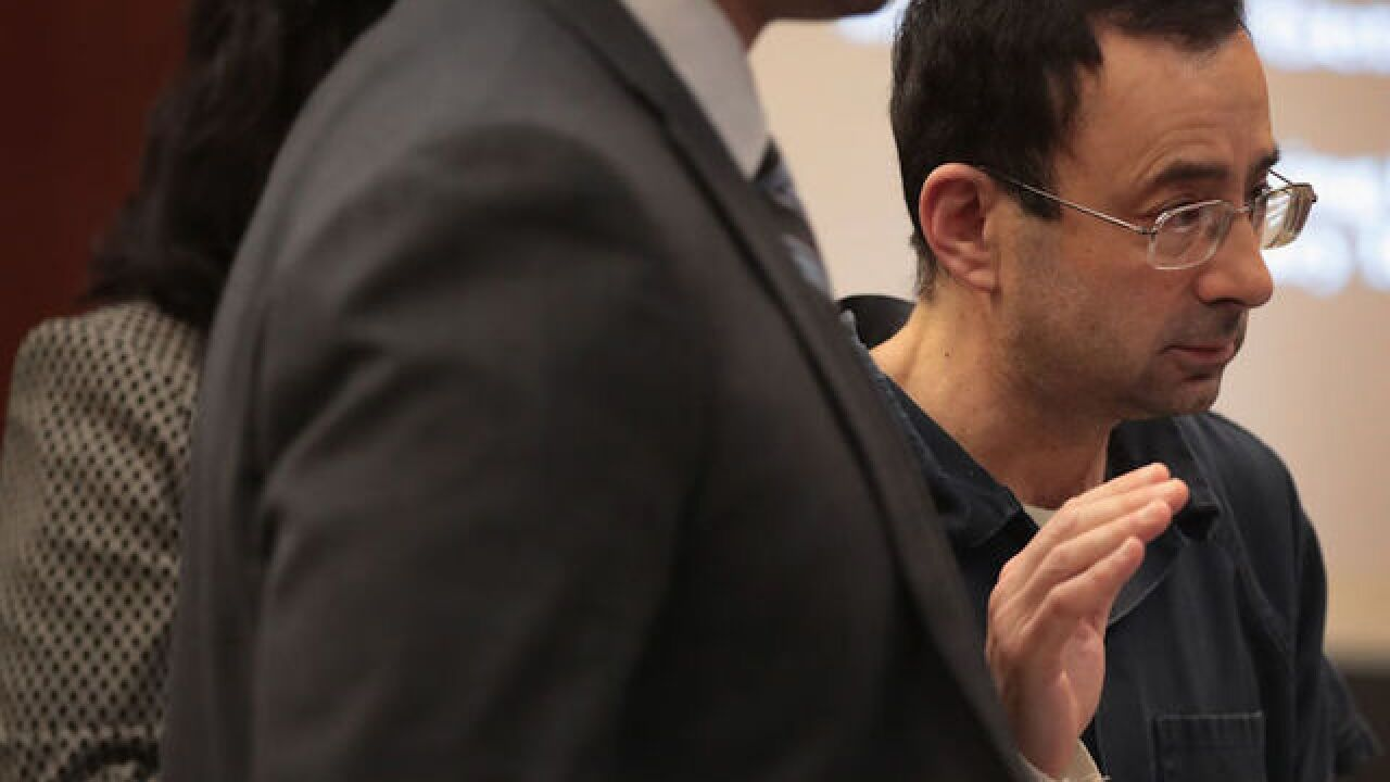 Larry Nassar to be sentenced Wednesday