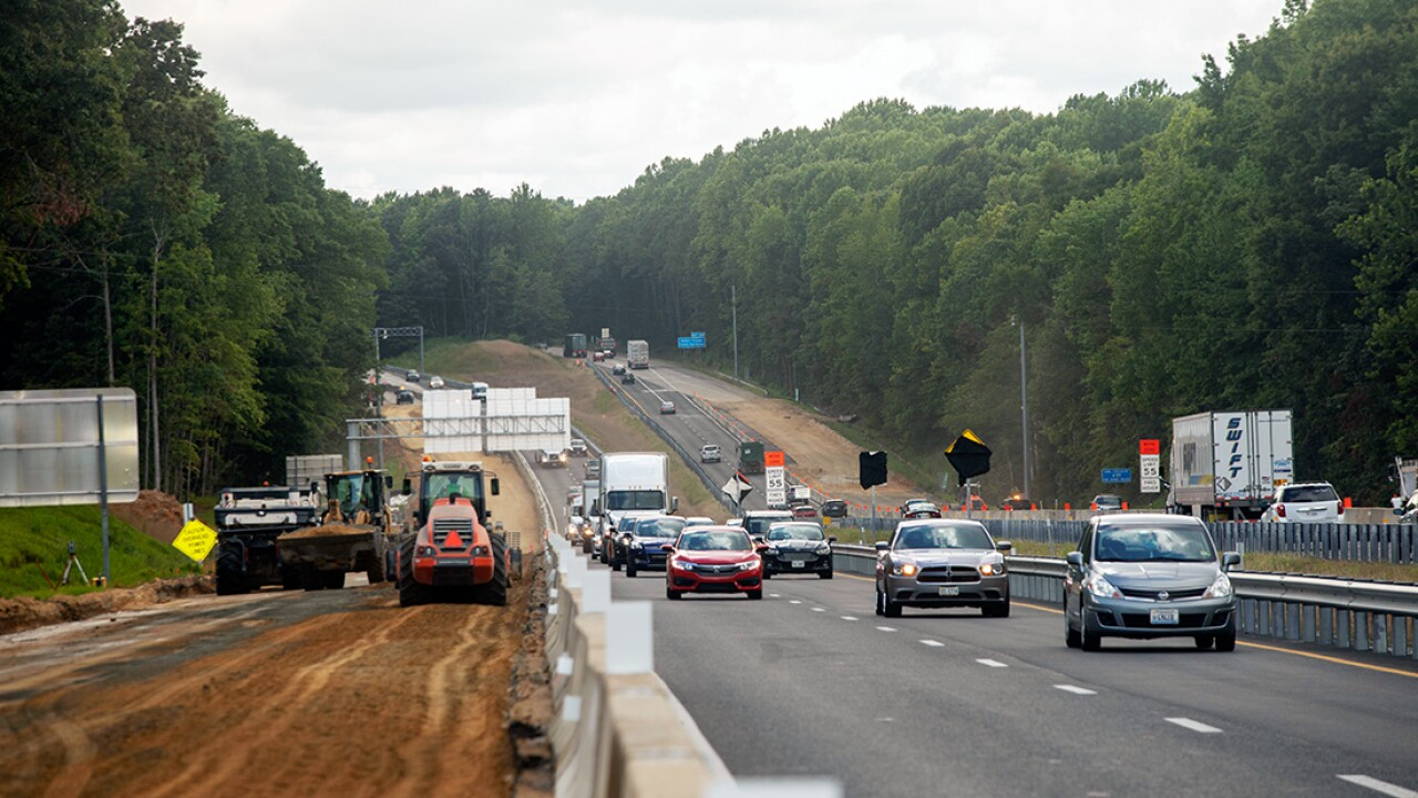 Interstate 64 gains $30 million per year to finish expansion project