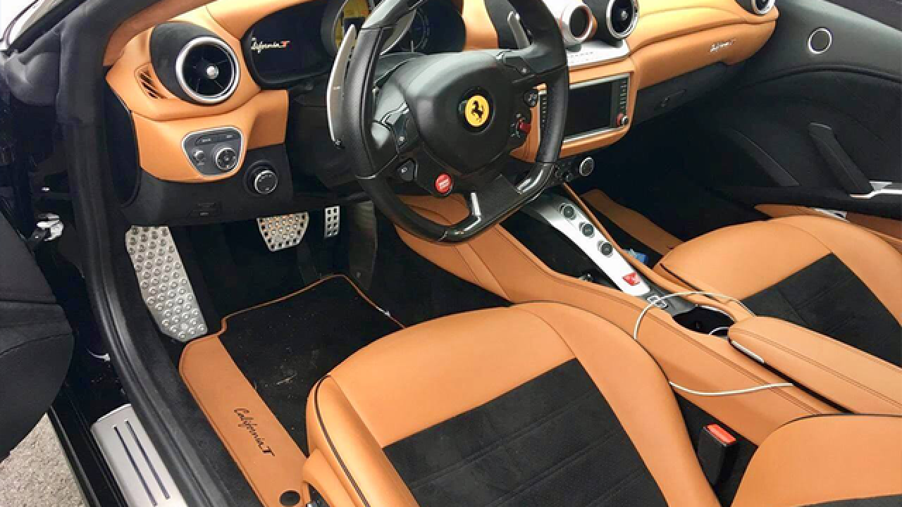 Fla. Uber driver arrested for stealing Ferrari