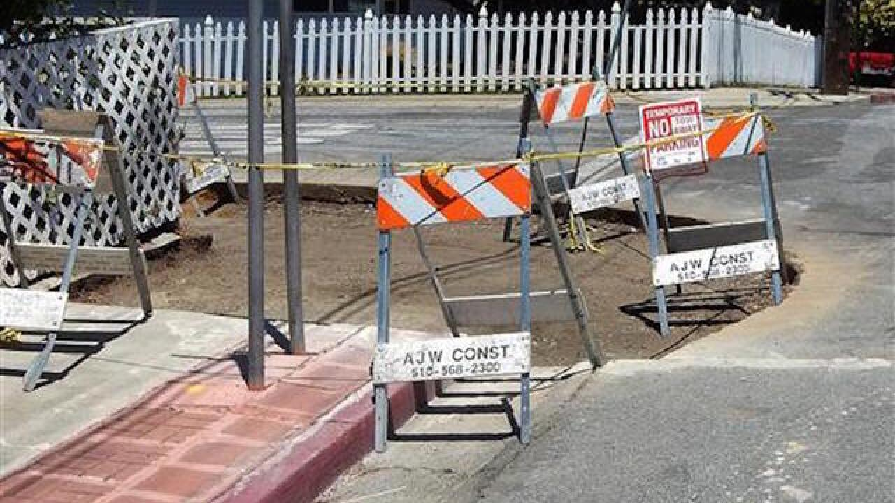 California city's curb fix disappoints earthquake scientists