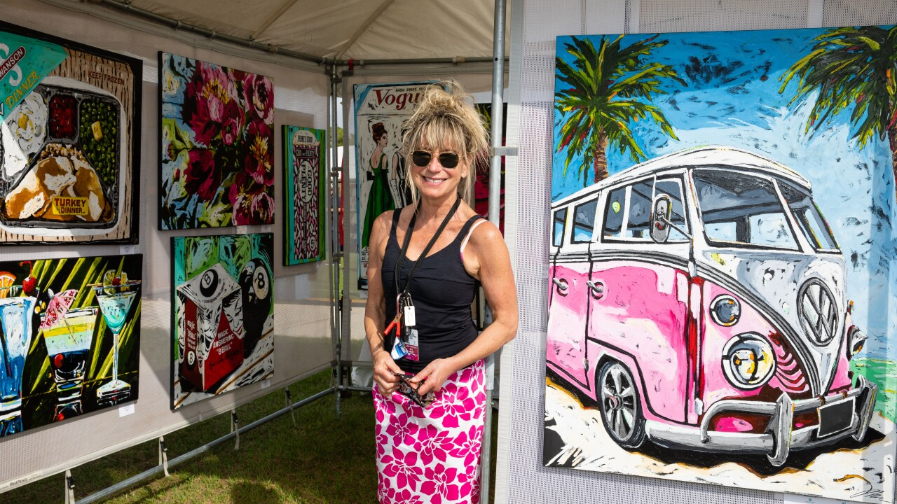 Artist Julie Gilmore