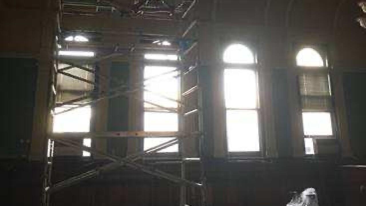Inside East Harlem Courthouse