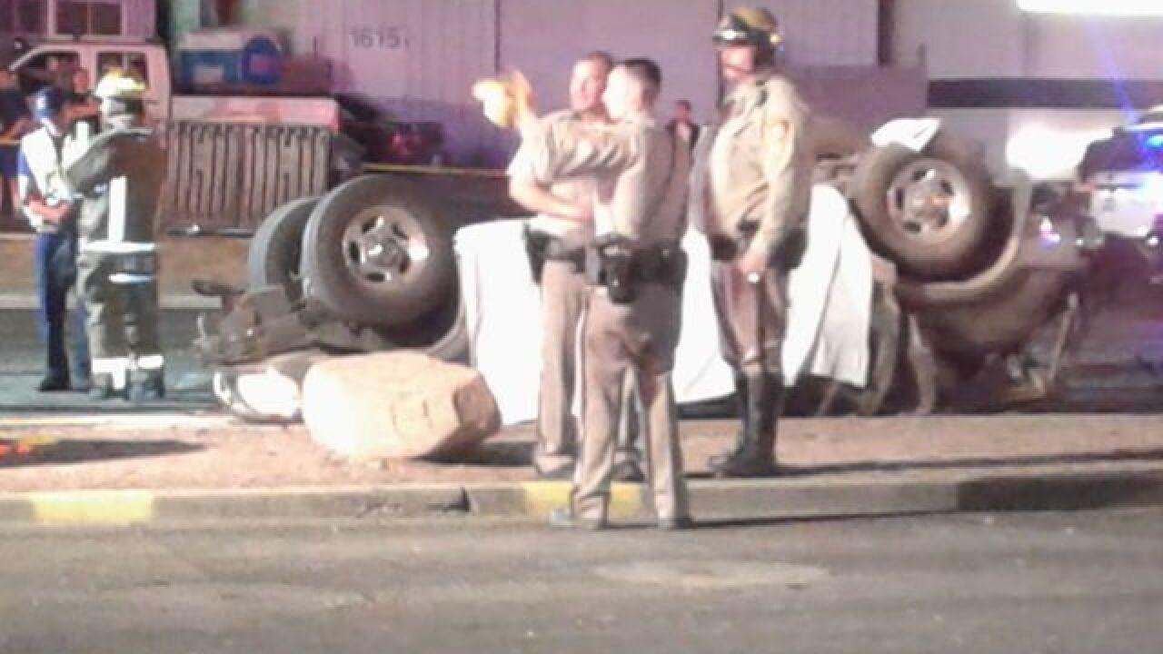 One dead after high-speed crash Thursday