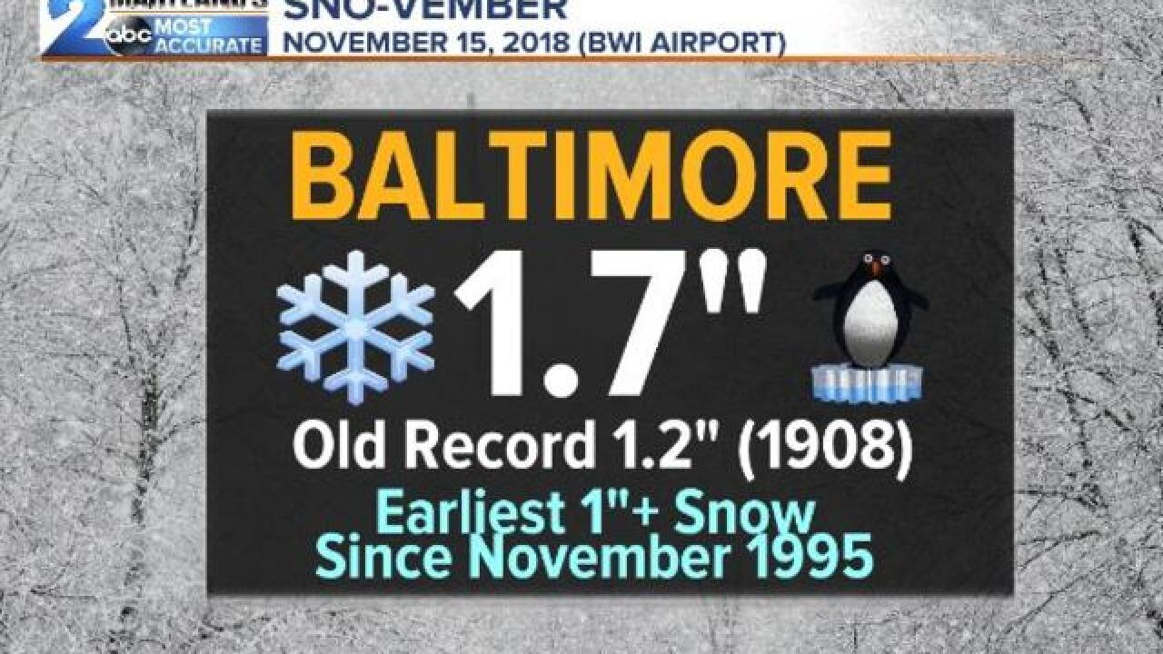 NOVEMBER TO REMEMBER-Tornadoes To Snow