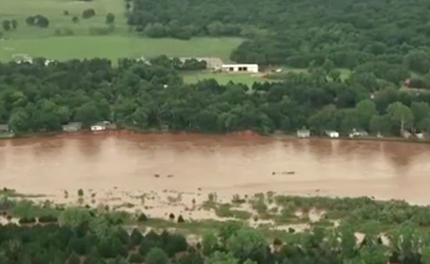 Photos: Massive flooding in Oklahoma