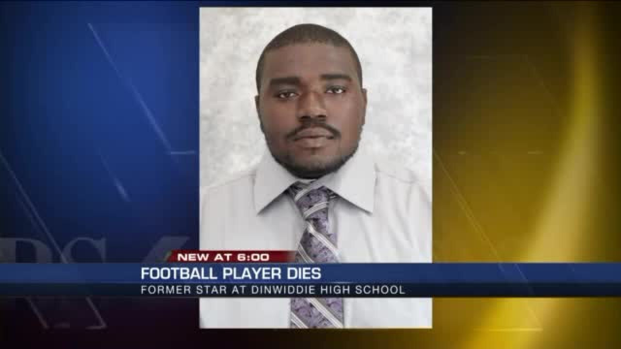 UPDATE: Former Dinwiddie football player Ronald Cunningham dies unexpectedly at college