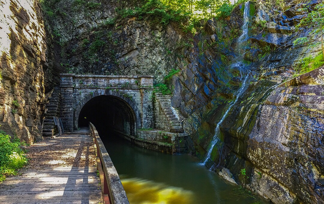 Paw Paw Tunnel South Entrance
