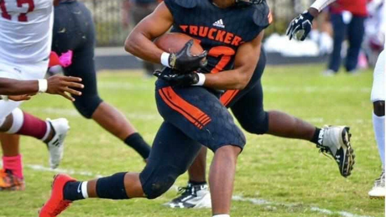 Marcus Cutler, a senior at Churchland High School. He was a member of the varsity football team and track team. He plans to continue his football dreams on the collegiate level next year.jpg