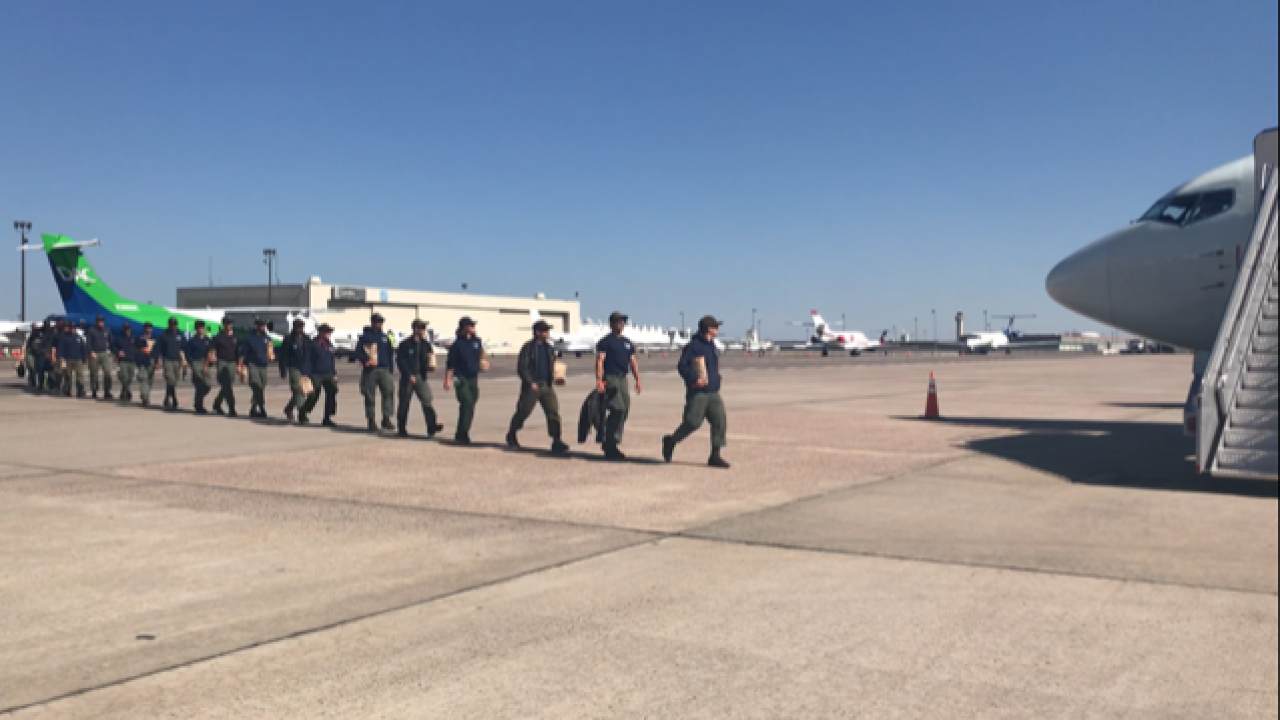 Colorado and Wyoming firefighters head to Canad
