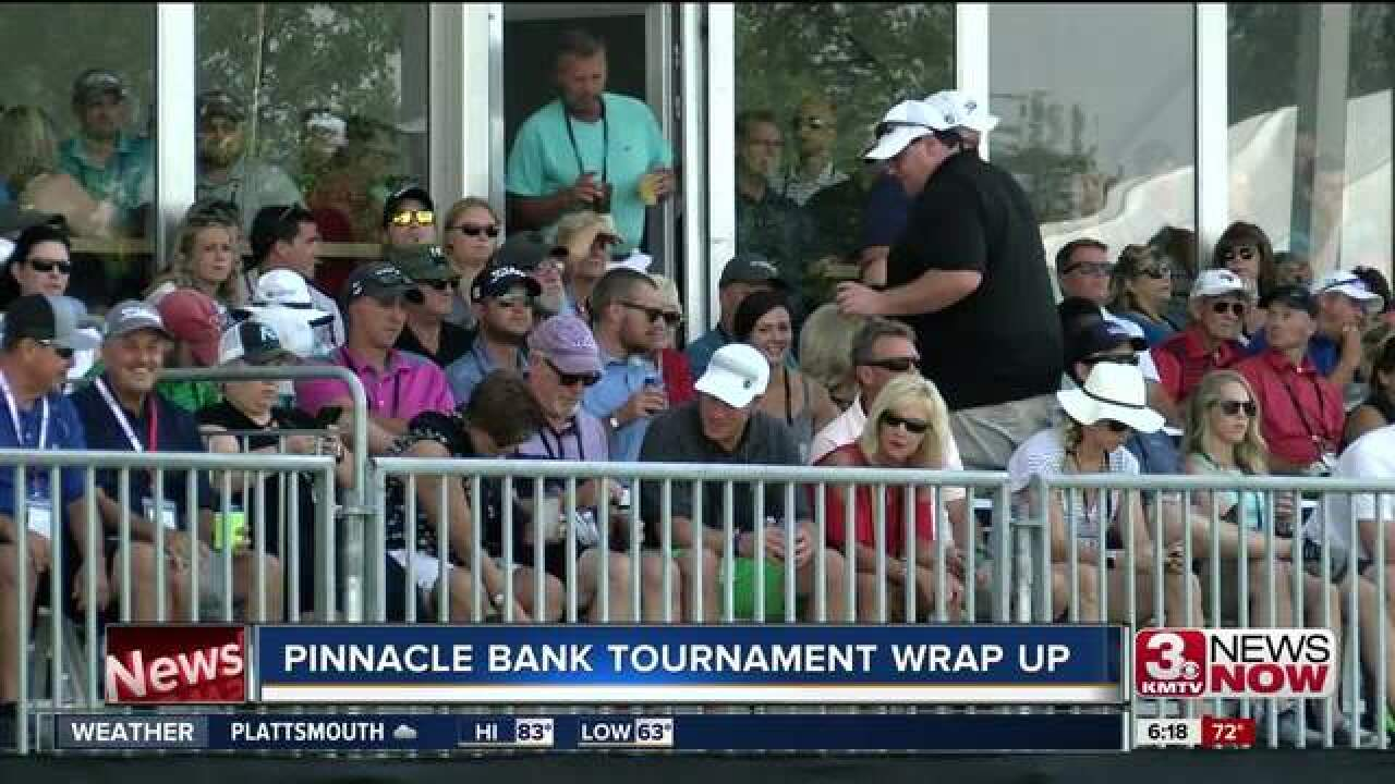 Pinnacle bank championship draws large crowd