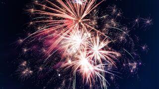 File image: Fireworks display.