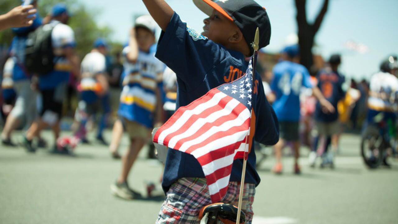 Mira Mesa Fourth of July parade 2017