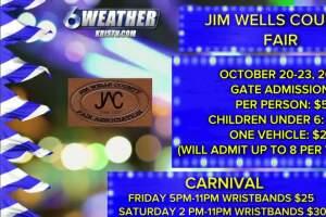 Juan Acuña live from the Jim Wells County Fair