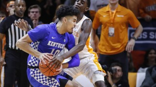 Kentucky Tennessee Basketball