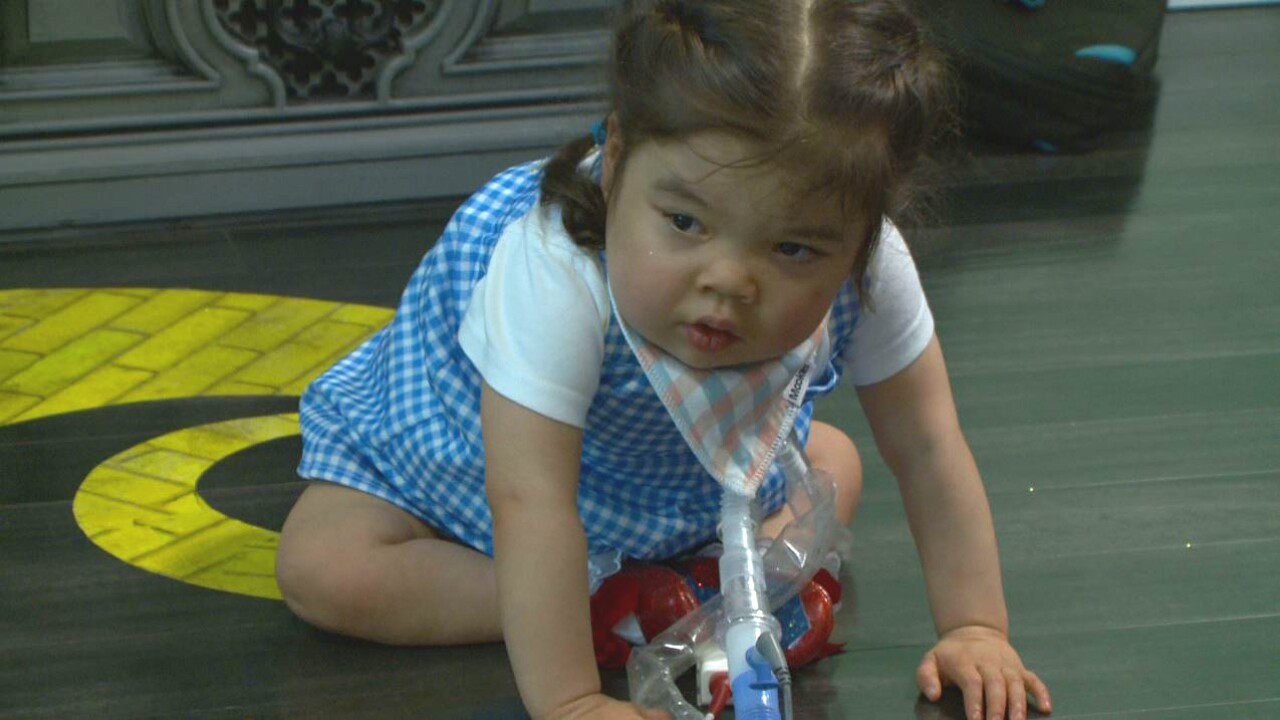 After more than 3 years in Ohio hospital, South Jordan girl has her first birthday party athome